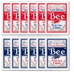 72 Bee No. 92 Diamond Back Club Special Red/Blue Decks Reg