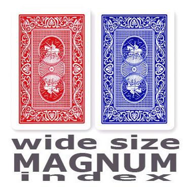Casino Supply Copag Playing Cards: Red & Blue, Wide Magnum Index