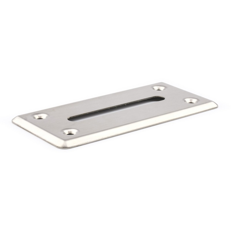 Casino Supply Money Drop Slot Frame: Stainless Steel