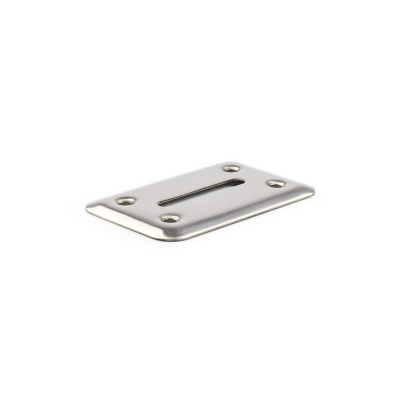 Casino Supply Money Chip Drop Slot Frame: Stainless Steel