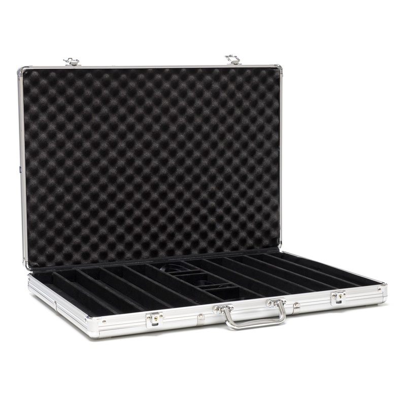 Casino Supply Aluminum 1000 Chip Poker Case