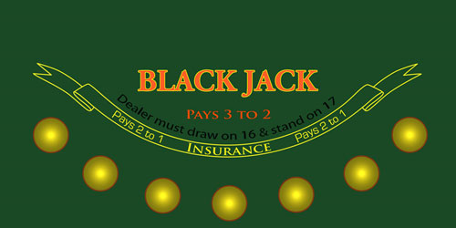 Blackjack Sublimation Felt