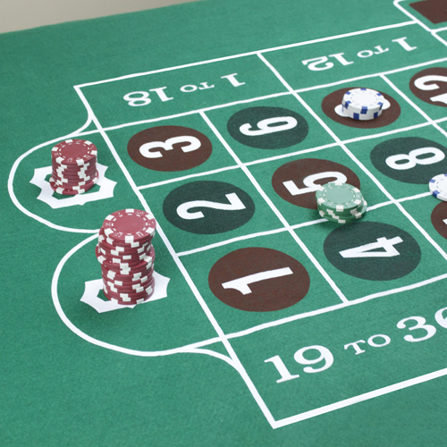 Craps and Roulette Table Felt