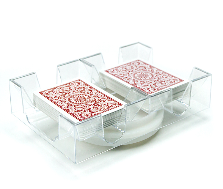 2 Deck Rotating Card Tray