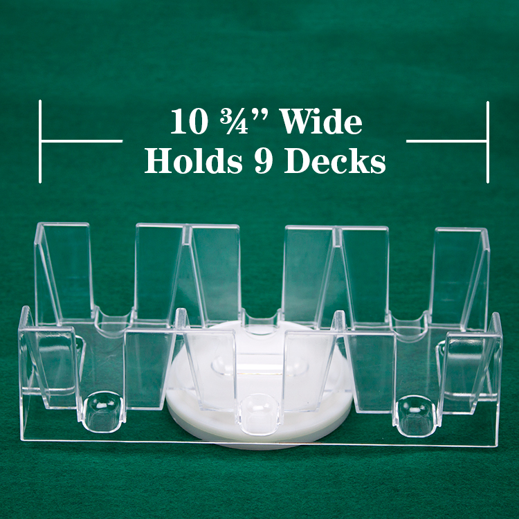 9 Deck Rotating Card Tray