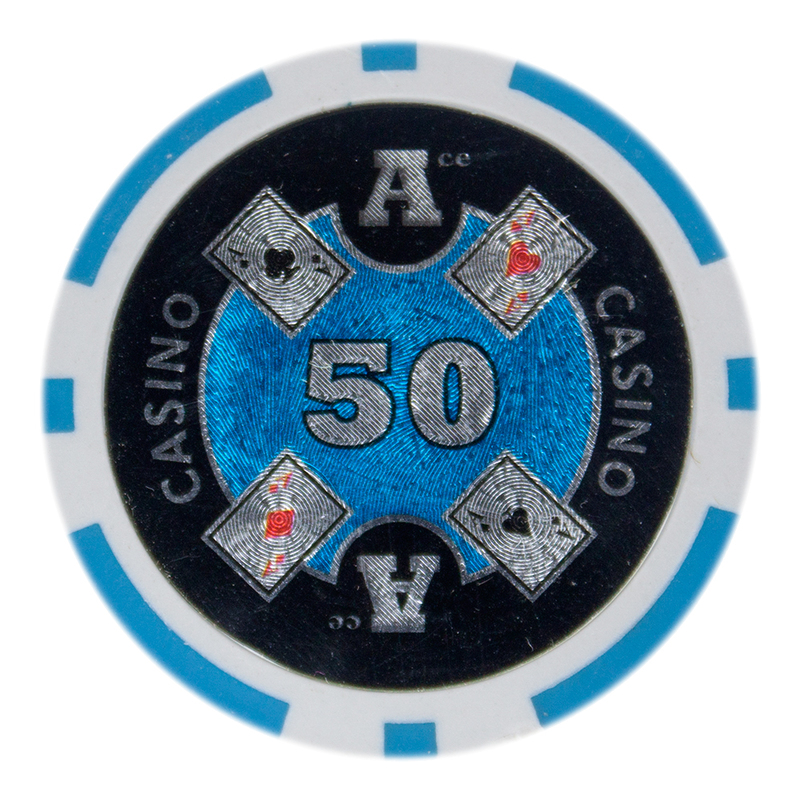 Roll of 25 - Ace Casino 14 gram - $50