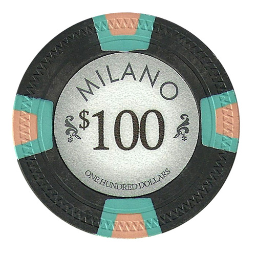 Roll of 25 - Milano 10 Gram Clay - $100