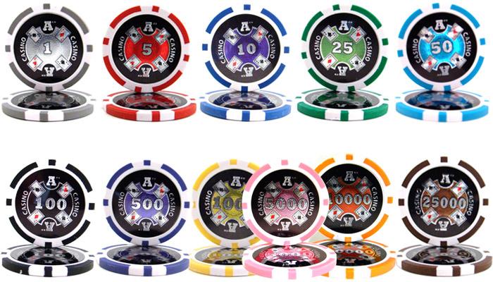 14g 500 casino chip clay golden nuggets poker rare set casino blackjack how