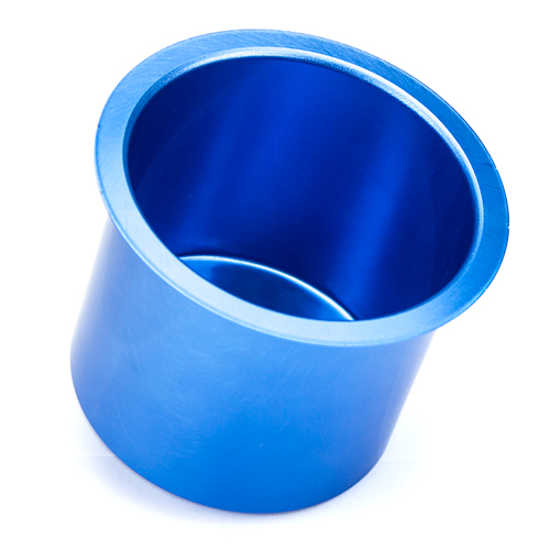 Vivid Blue Aluminum Cup Holder