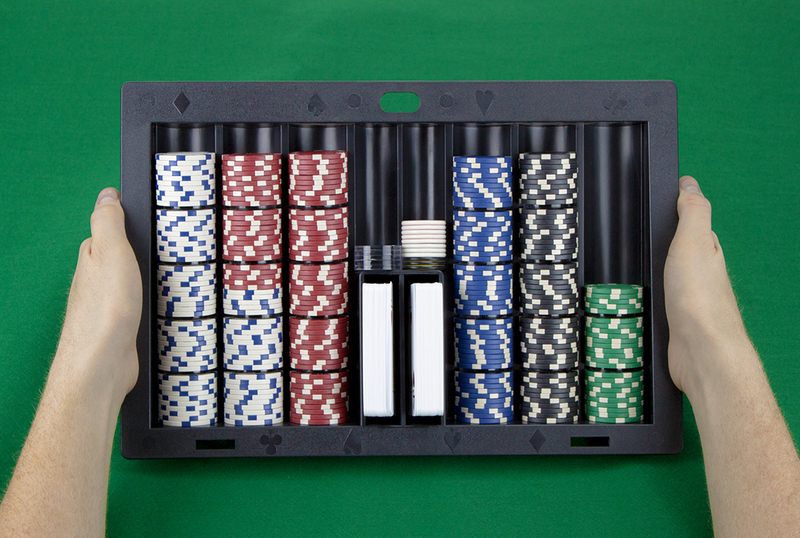 Plastic Poker Dealer Chip Tray