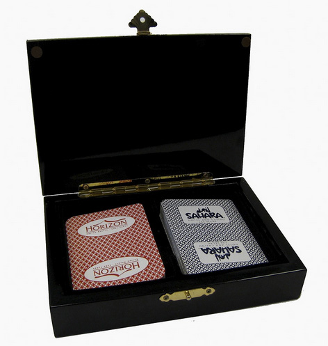 Casino Supply Hi-Gloss Designer Playing Card Case