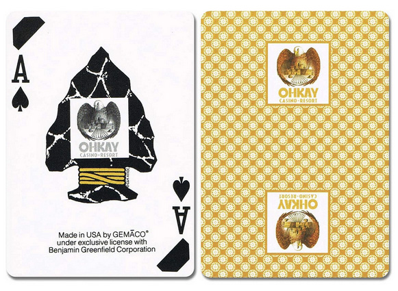 Bee Casino Playing Cards - Slim Card