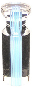 Casino Supply Roulette Marker: Crown Dolly with Turquoise Insert