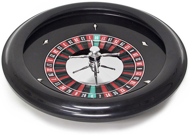 Casino Supply 18 Inch Abs Roulette Wheel: Steel Spinner