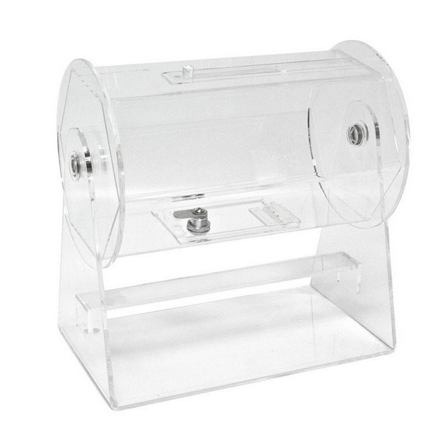 Casino Supply Acrylic Raffle Drum: Deluxe, Small