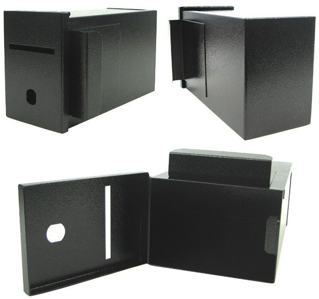 Casino Supply Metal Toke Box: Professional Casino Grade with J Hook and Lock