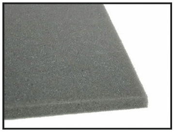 Casino Supply Poker Table Foam Padding: 42 x 72 x 3/8 Inch