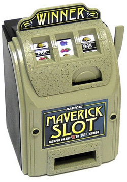 Casino Supply Maverick Toy Slot Machine Bank
