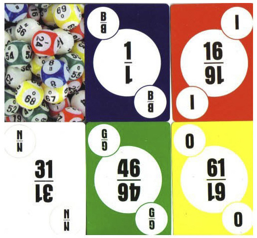 Casino Supply Deck of Bingo Calling Cards 1