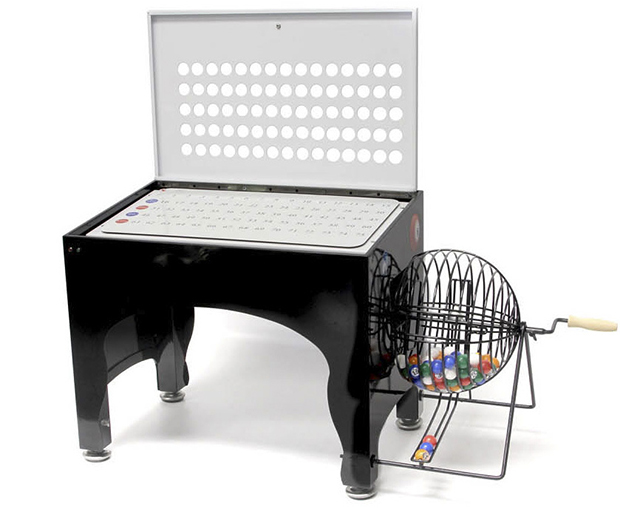 Casino Supply Automatic Electronic Bingo Speedy Cage with a Wireless 4 Inch Led Display