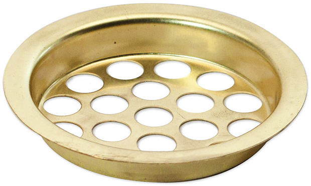 Casino Supply Brass Ash Tray Screen
