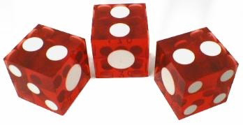 Casino Supply Pai Gow Dice: Stick of 3