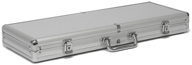 Casino Supply Aluminum 300 Chip Poker Case