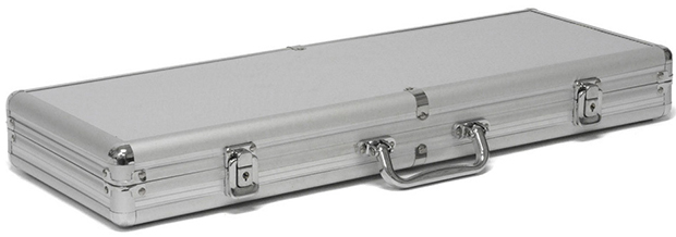 Casino Supply Aluminum 500 Chip Poker Case