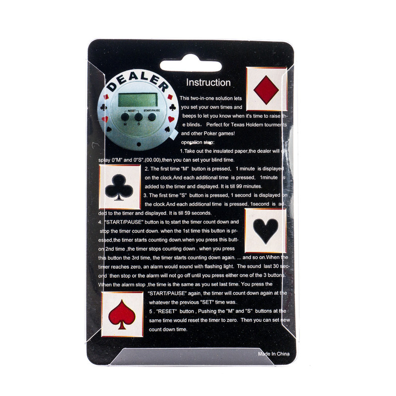 Casino Supply Texas Hold'em Poker Tournament Timer