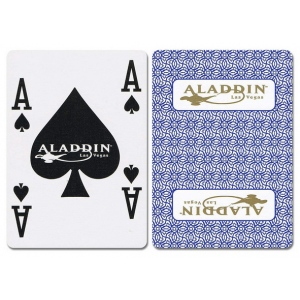 Casino Supply Alladin New Uncancelled Casino Playing Cards: Blue