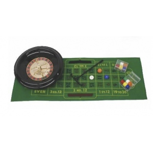 Casino Supply Roulette Set with 12 Inch Wheel