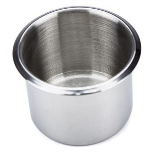 Casino Supply Stainless Steel Drop In Drink Holder