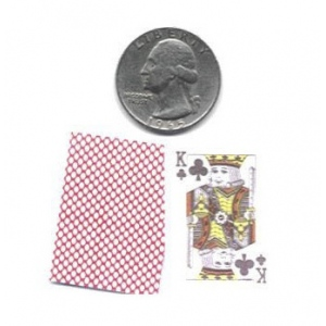 Casino Supply Mini Playing Cards: Case of 12