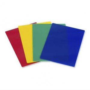 Casino Supply Plastic Stiff Cut Cards: Blue, Poker Size, Pack of 10
