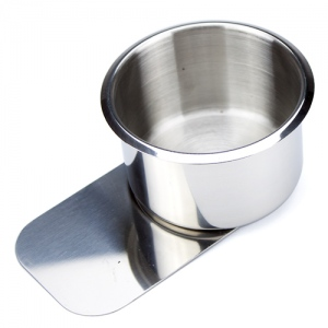 Small Stainless Steel Slide Under Cup Holder