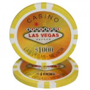 Las vegas 14 gram poker chips