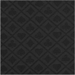 Casino Supply Poker Table Waterproof Suited Speed Cloth: Black, Sold per Running Foot
