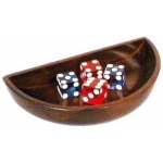 Casino Supply Wood Dice Boat