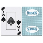 Casino Supply Harrahs Rincon New Uncancelled Casino Playing Cards: Teal