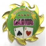 Casino Supply Ladies Poker Card Guard Spinner