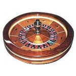 Casino Supply Roulette Wheel: Professional Grade, 25 Inch