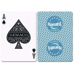 Casino Supply Harrahs Vicksburg New Uncancelled Casino Playing Cards: Teal
