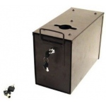 Casino Supply Slimline Universal Metal Casino Drop Box with Sleeve & Locks