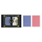 Casino Supply Da Vinci Neve Playing Cards: Red/Blue, Wide Regular Index