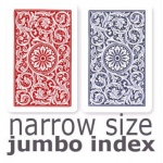 Casino Supply Copag 1546 Playing Cards: Red & Blue, Narrow Jumbo Index