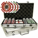 Casino Supply Deluxe Aluminum Case with 300 Kings 11.5g. Poker Chips