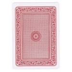 "Casino Supply Jumbo Plastic Coated Playing Cards: 5"" X 7"""