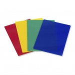 Casino Supply Plastic Stiff Cut Cards: Yellow, Poker Size, Pack of 10