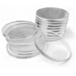 Casino Supply Clear Acrylic Poker Chip Spacers: Pack of 10