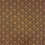 Casino Supply Two-Tone Suited Speed Cloth: Brown, Sold per Running Foot